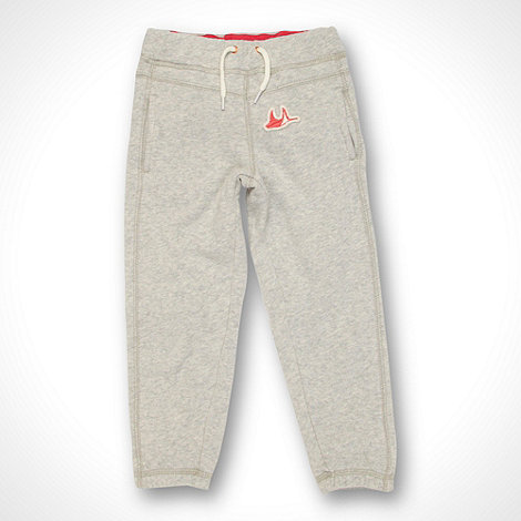 Mantaray - Girl+s grey cuffed jogging bottoms