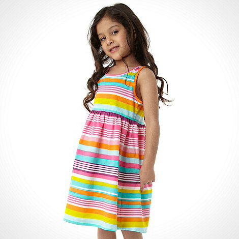 bluezoo - Girl+s pack of two multi striped dress