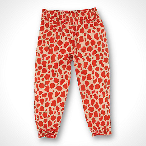 bluezoo - Girl+s red animal hareem pants