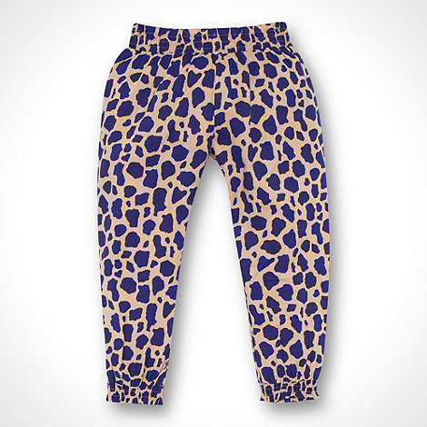 bluezoo - Girl+s blue animal hareem pants