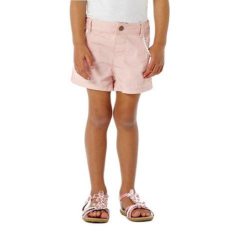 bluezoo - Girl+s pink denim shorts