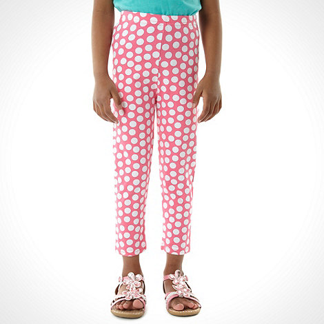 bluezoo - Girl+s pack of two spotted leggings