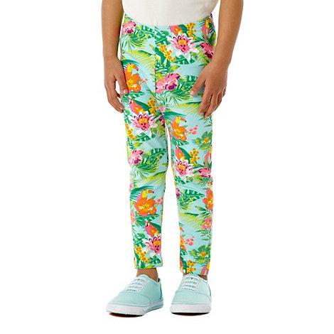 bluezoo - Girl+s pack of two multi leggings