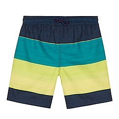 bluezoo - Boys' multi-coloured striped swim shorts
