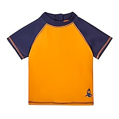 bluezoo - Boys' orange rasher vest