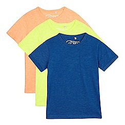bluezoo - Pack of three boys' assorted t-shirts