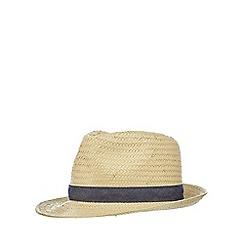 bluezoo - Boys' beige trilby hat