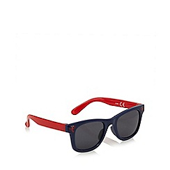 bluezoo - Boys' navy lobster print sunglasses