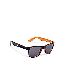 bluezoo - Boys' navy D-frame sunglasses