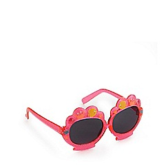 bluezoo - Girls' pink fish print sunglasses