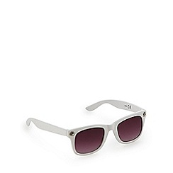 bluezoo - Girls' white stone sunglasses