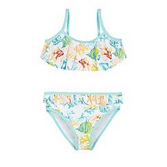 Mantaray - Girls' multi-coloured fish print bikini