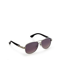 Mantaray - White aviator sunglasses