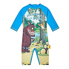 The Gruffalo - Boys' blue 'Gruffalo' sun-safe swimsuit