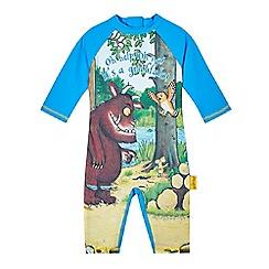 The Gruffalo - Boys' blue 'Gruffalo' sun-safe swimsuit