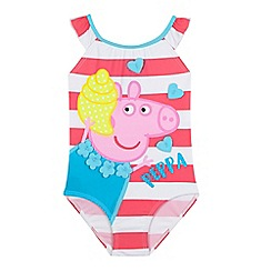 Peppa Pig - Girls' pink 'Peppa Pig' swimsuit