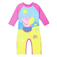 Peppa Pig - Girls' pink 'Peppa Pig' sun-safe swimsuit