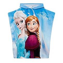 Disney Frozen - Girls' lilac 'Frozen' poncho