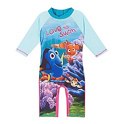 Disney PIXAR Finding Nemo - Girls' multi-coloured Finding Nemo sun-safe suit