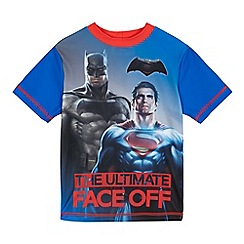 Batman - Boys' red 'Batman vs Superman' rash vest