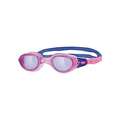 Zoggs - Pink and purple 'Phantom Junior' swimming goggles