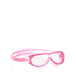Zoggs - Pink 'Phantom Mask' swimming goggles