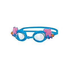 Zoggs - Blue 'Peppa Pig' swimming goggles