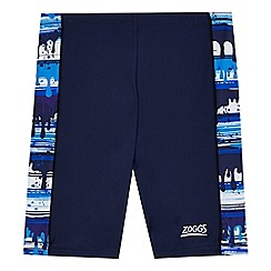 Zoggs - Boys' blue tile print swim shorts
