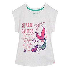 Animal - White mermaid print t-shirt