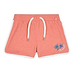 Animal - Girls' pink sweat shorts