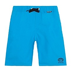 Animal - Boys' blue board swim shorts