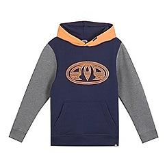 Animal - Boys' navy logo applique