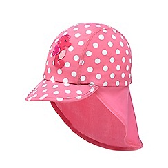 bluezoo - Girls' pink seahorse beach hat