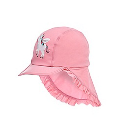 bluezoo - Girls' pink unicorn swim hat
