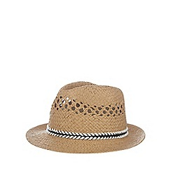 bluezoo - Boys' natural paper trilby hat