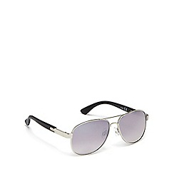 bluezoo - Boys' silver aviator sunglasses
