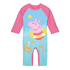 Peppa Pig - Girls' pink 'Peppa Pig' one-piece swim suit