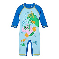 Peppa Pig - Boys' blue 'Peppa Pig' George sun-safe swimsuit