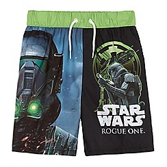 Star Wars - Boys' multi-colour swim shorts