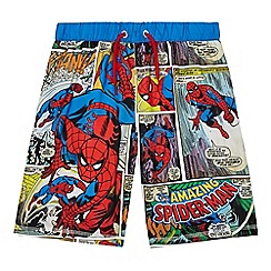 Spider-man - Boys' multi-coloured Spider-man swim shorts
