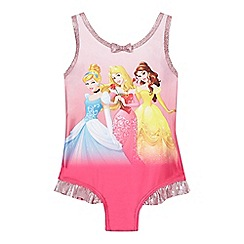 Disney Princess - Girls' pink 'Disney Princess' swimsuit
