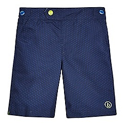 Baker by Ted Baker - Boys' navy geometric print board shorts