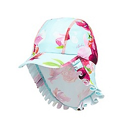 Baker by Ted Baker - Girls' aqua floral print cap