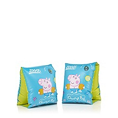 Zoggs - Girls' multi-coloured Peppa Pig swimbands