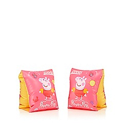 Zoggs - Girls' pink 'Peppa Pig' arm bands