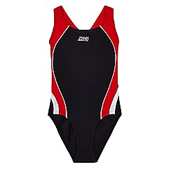 Zoggs - Girls' black swimsuit