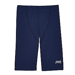 Zoggs - Boys' navy blue swimming jammers