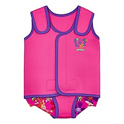 Zoggs - Baby girls' pink swim wrap