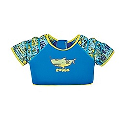 Zoggs - Boys' blue patterned waterwing vest