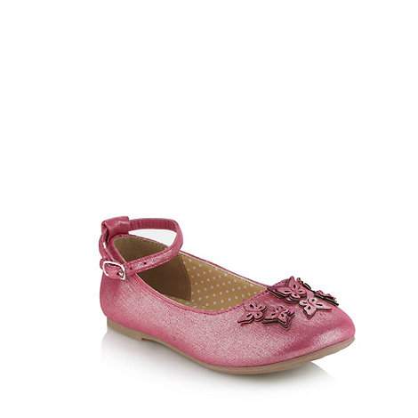 bluezoo - Girl+s pink butterfly pumps
